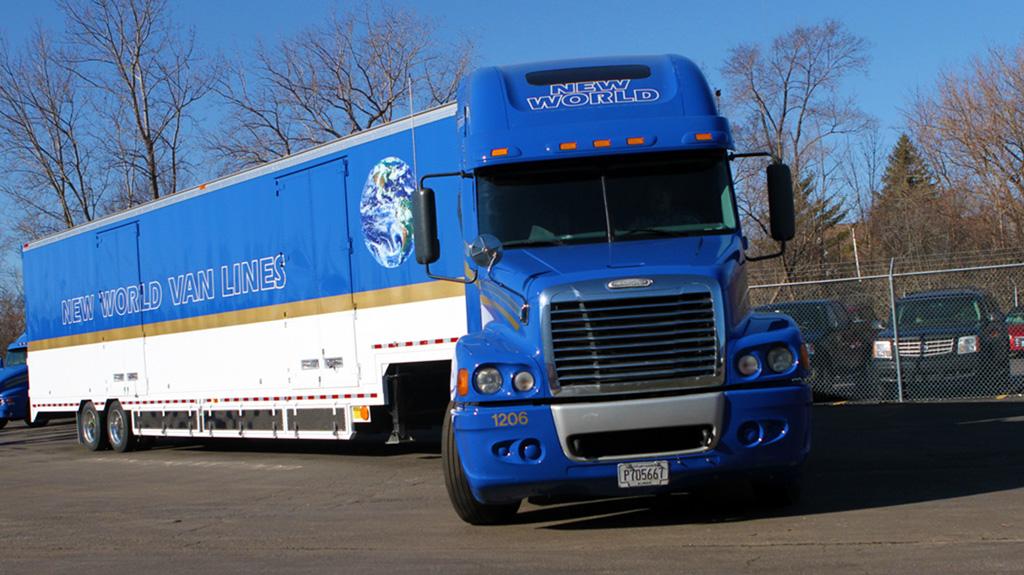 Logistics Management – New World Van Lines