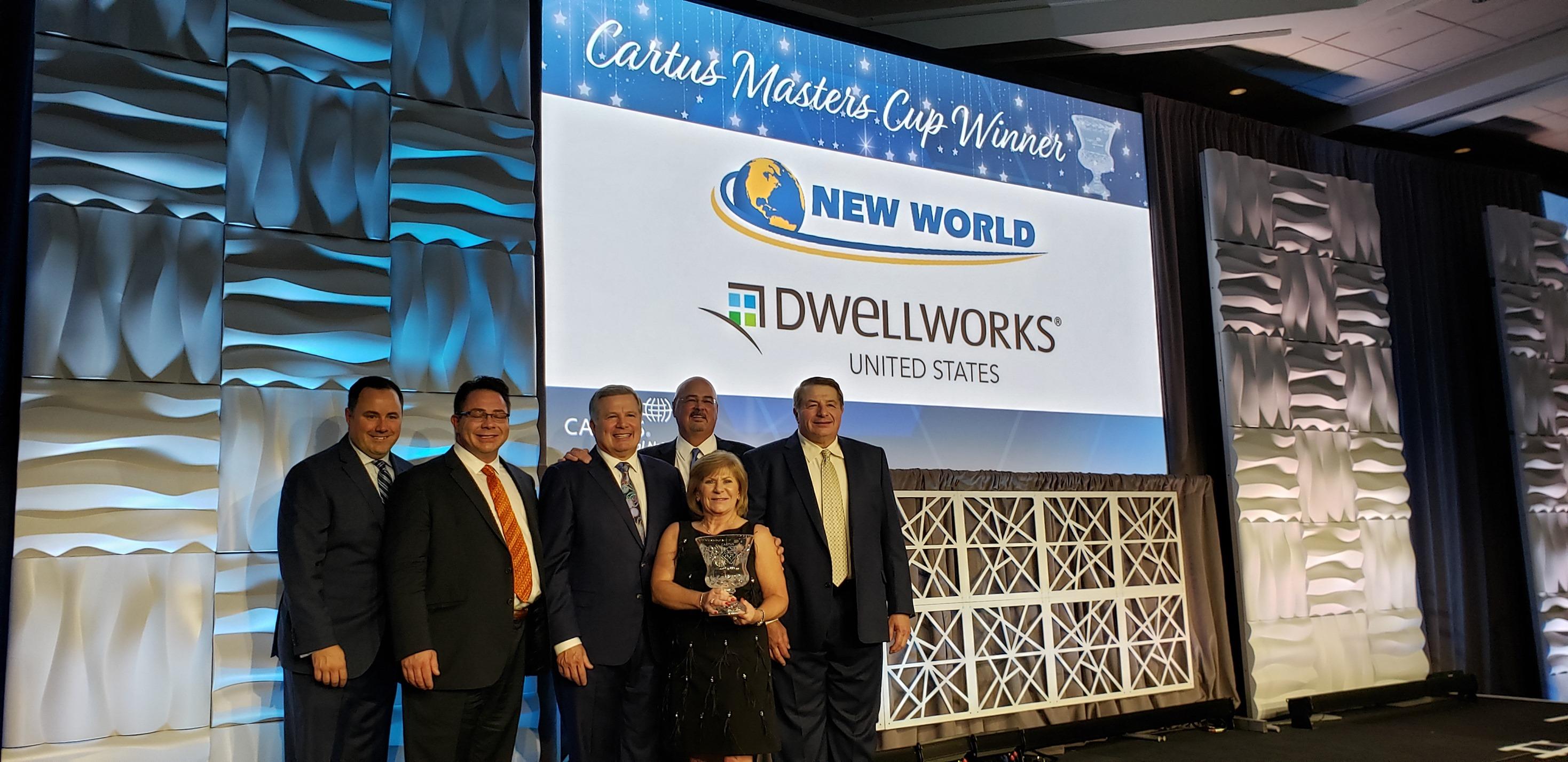 NWVL Receives Prestigious Cartus Masters Cup Award
