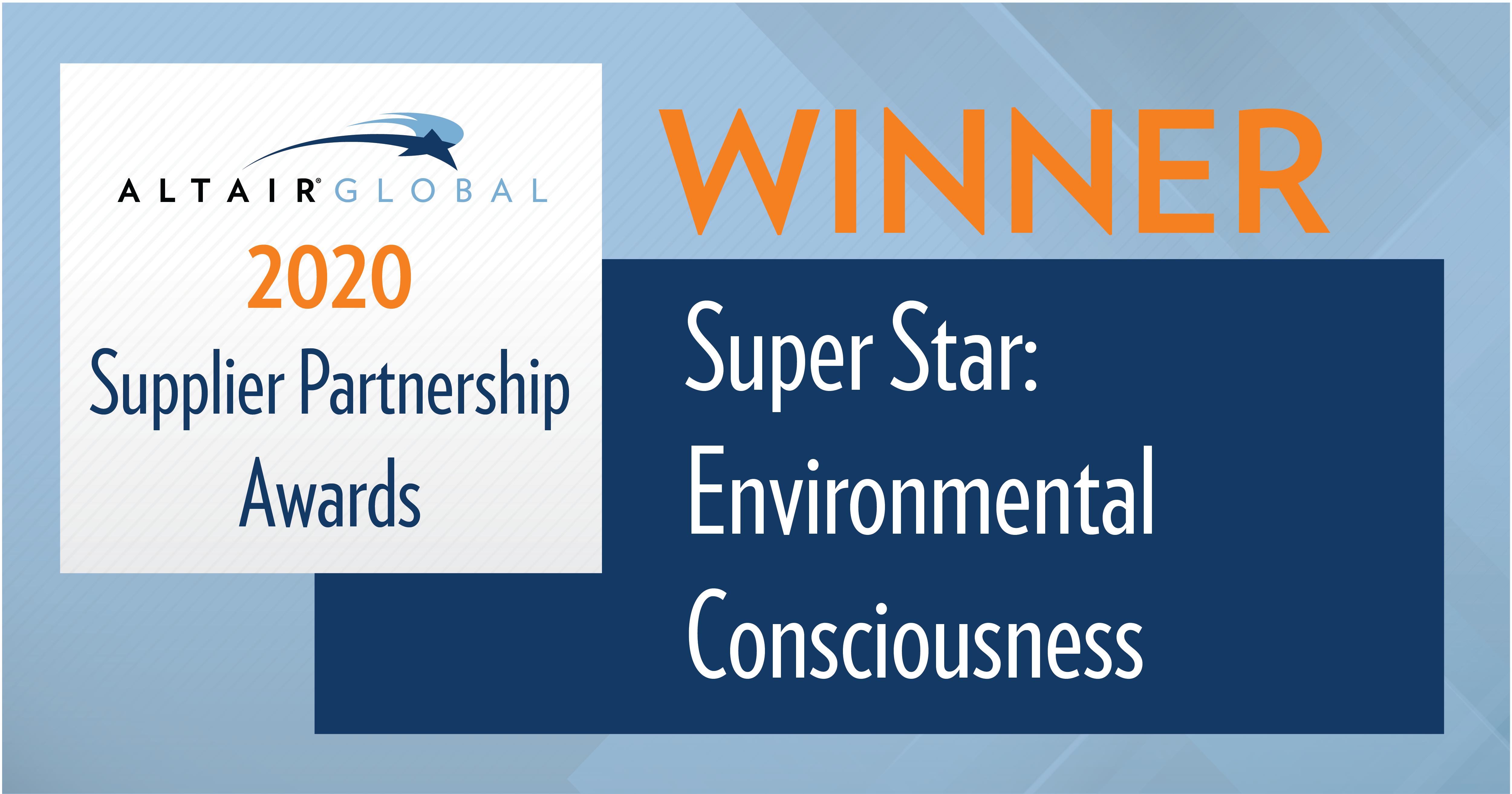 New World Van Lines Receives Super Star Award for Environmental Consciousness